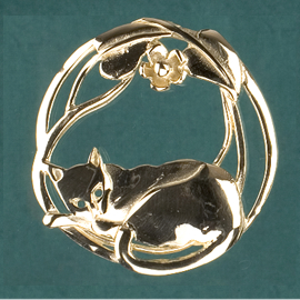 Cats & Brooches