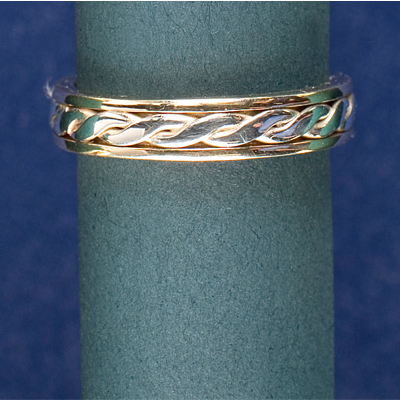 Gold Patterned Bands