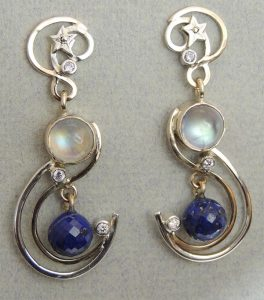 Silver Earrings - Joanna Thomson Jewellery, Peebles, Scotland