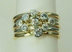 Designer Gold Rings - Joanna Thomson Jewellery, Peebles, Scotland