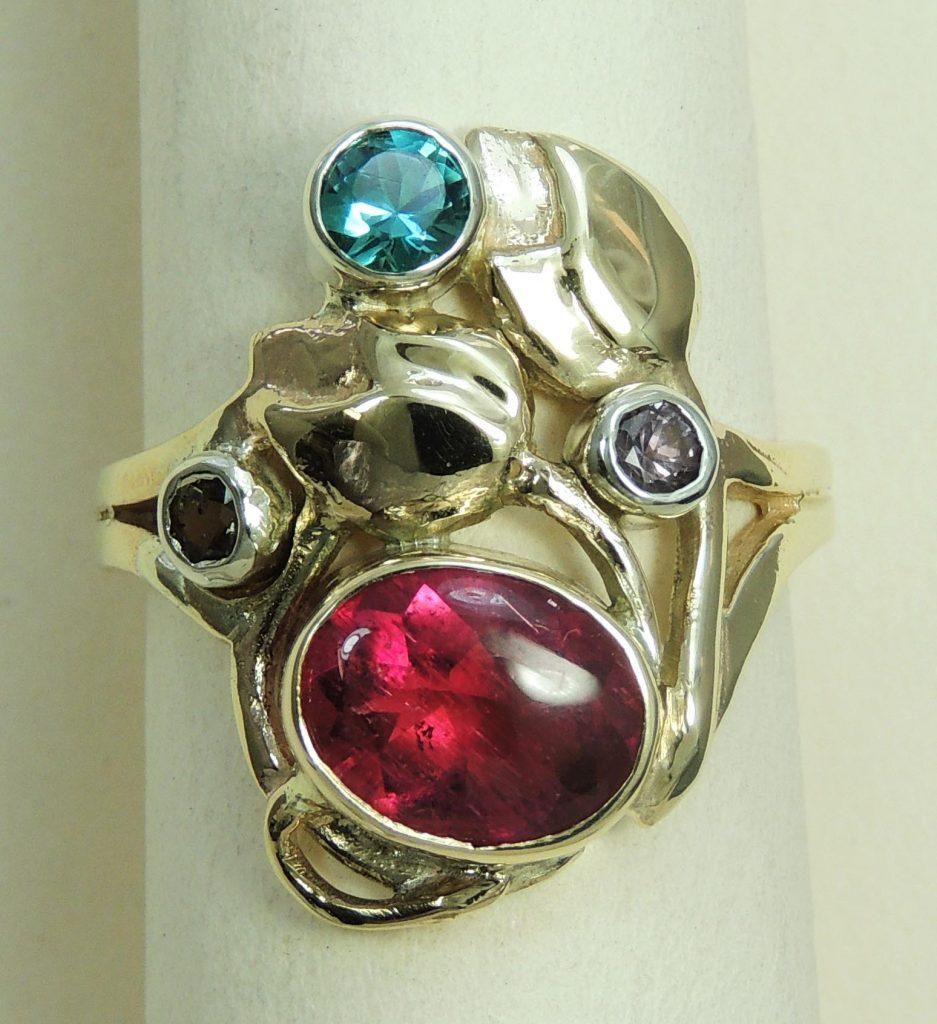 Bespoke Dress Ring - Joanna Thomson Jewellery, Peebles, Scotland