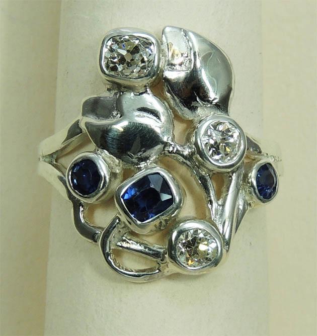 Bespoke Ring Commission - Joanna Thomson Jewellery, Peebles, Scotland