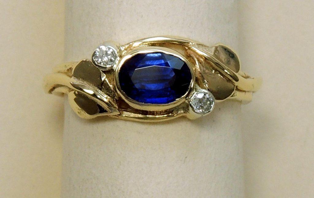 Kyanite Ring - Joanna Thomson Jewellery, Peebles, Scotland