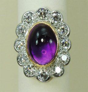 Amethyst Ring - Joanna Thomson Jewellery, Peebles, Scotland